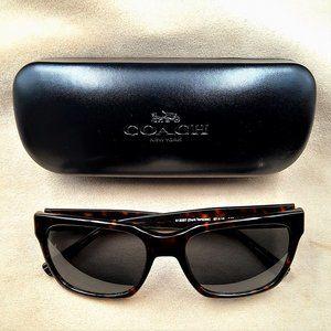 Coach Sunglasses HC8235 Dark Tortoise